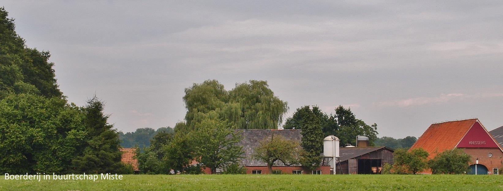 Boerderij in buurtschap Miste