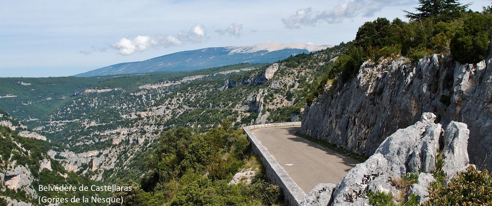 Belvédère de Castellaras (Provence)