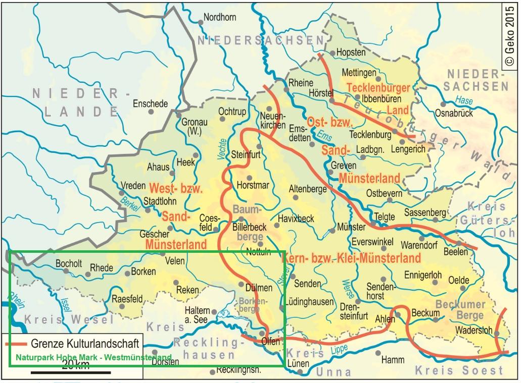 Naturpark Hohe Mark-Westmünsterland
